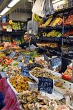 Marknad för Stallar Malaga, Spanien Royaltyfri Bild