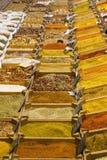 marknad för varma kryddor Royaltyfri Fotografi