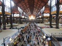 Marknad i Budapest Arkivfoton