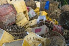 Marknad i Burma Fotografering för Bildbyråer