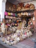 Marknad i Casablanca Arkivfoto