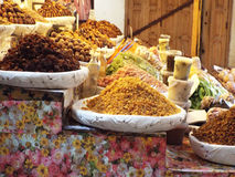 Marknad i den gamla medinaen Royaltyfri Fotografi