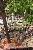 Marknad i Funchal, Madeira Royaltyfria Foton