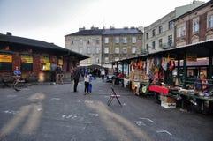 Marknad i gatorna Royaltyfria Bilder