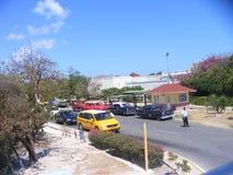 Marknad i Kuba på våren kubansk semesterort arkivbild