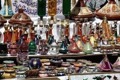 Marknad i Marocko, Afrika Fotografering för Bildbyråer