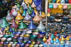Marknad i Marrakech Fotografering för Bildbyråer