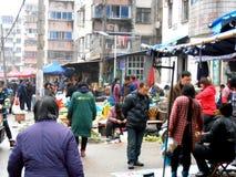 Marknad i porslin Royaltyfri Foto