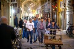 Marknad i Shiraz, Iran Royaltyfria Foton