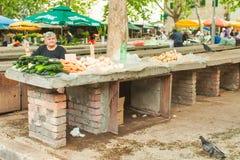 Marknad i Split Arkivbilder