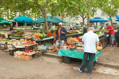 Marknad i Split Royaltyfri Foto