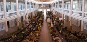 Marknad i staden av Mindelo Royaltyfri Bild