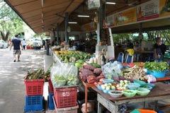 Marknad i Thailand Fotografering för Bildbyråer