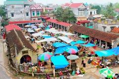 Marknad i Vietnam Royaltyfri Foto