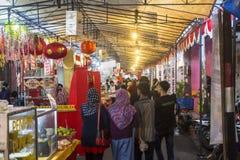 Marknad i Yogyakarta, Indonesien royaltyfri fotografi