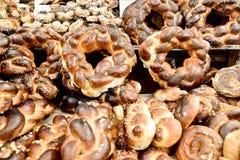 Marknad Jerusalem, Israel Arkivfoto