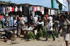 marknad mombasa Arkivbilder