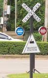 Marknad och shopping för trafik järnväg Royaltyfria Foton