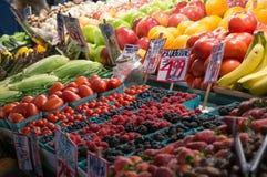 Marknad Seattle för ` s för pik för ställning för marknad för bonde` s royaltyfria bilder