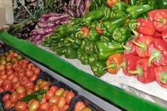 Marknad som är bekant som fruktaffär, royaltyfri fotografi