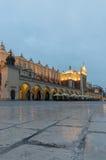 Marknad som bygger Krakow Royaltyfri Foto