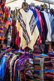Marknaden av staden av Otavalo Royaltyfria Bilder