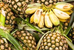 marknaden kryddar grönsaker Royaltyfri Fotografi