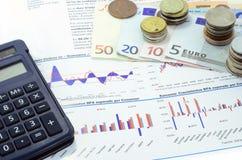 Marknader och ekonomi Arkivbilder
