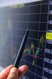 Marknadsanalysering Arkivbild