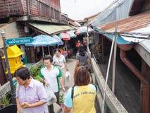 Marknadsföra 100 år på Chachoengsao, Thailand Royaltyfri Fotografi