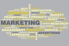 marknadsföring stock illustrationer
