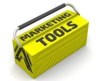 Marknadsföringshjälpmedel stock illustrationer