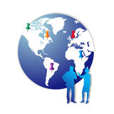 marknadsföringsplan Arkivfoto
