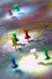 marknadsföringsplan Arkivbilder