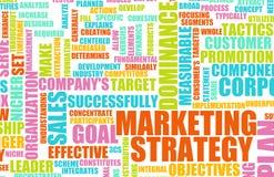 marknadsföringsstrategi Arkivfoton