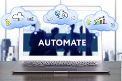 Marknadsföringsstrategi Planläggningsstrategibegrepp Affär teknologi royaltyfri bild