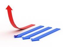marknadsföringssymbol Fotografering för Bildbyråer