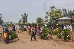 Marknadsföra i Afrika Fotografering för Bildbyråer