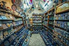 Marknadsföra i Jerusalem Arkivbild