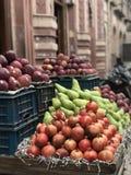 Marknadsfruktställning Royaltyfri Fotografi