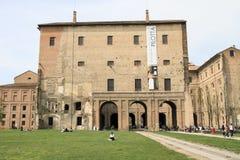 Marknadsfyrkant av Parma Arkivbild