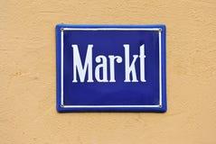 marknadsmarkt Royaltyfria Bilder