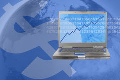 marknadsmateriel Arkivbild