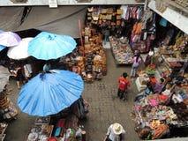 marknadsplats Arkivfoton