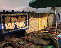 marknadsplats Royaltyfri Bild