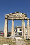 marknadsplats athens roman greece Royaltyfri Foto