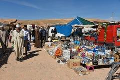 Marknadsplats i Marocko Royaltyfri Bild