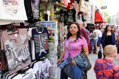 Marknadsplats i Paris Royaltyfri Foto