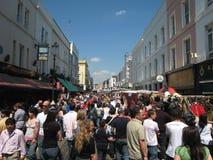 marknadsportobelloväg Royaltyfri Fotografi