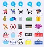 Marknadssymbol Arkivbild